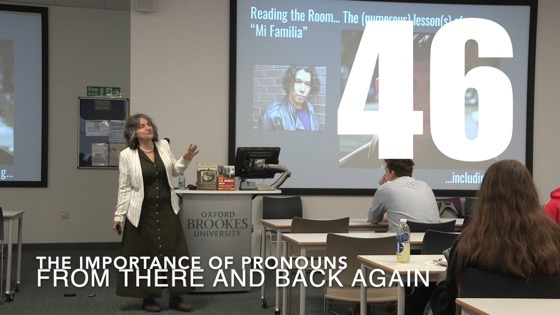 46 The Importance of Pronouns from There And Back Again: Writing and Developing for American TV [Video]