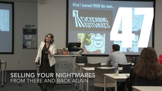 47 Selling Your Nightmares from There And Back Again: Writing and Developing for American TV [Video]