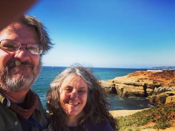Sunset Cliffs, San Diego Selfie via Instagram